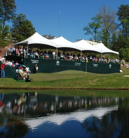 18 TH HOLE SKYBOX HOSPITALITY $7,500 $12,500 There is no better venue to entertain key customers, prospective clients and reward employees than with a hospitality skybox on the 18 th green.
