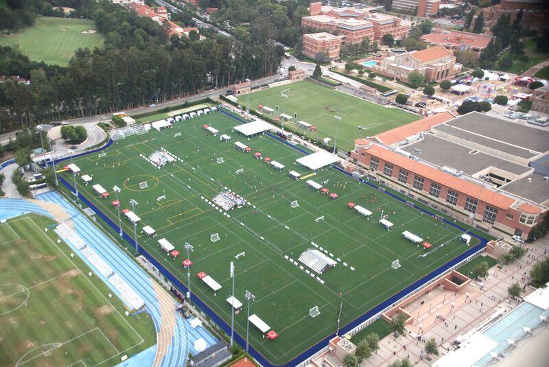 LA2015: SPORTS & VENUES On top: the busy Intramural Field at