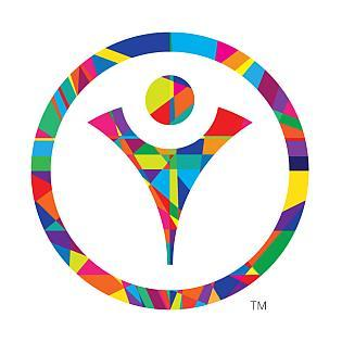 At the center of the logo is the Celebratory Figure, representing the courage, determination and joy of Special Olympics Athletes.