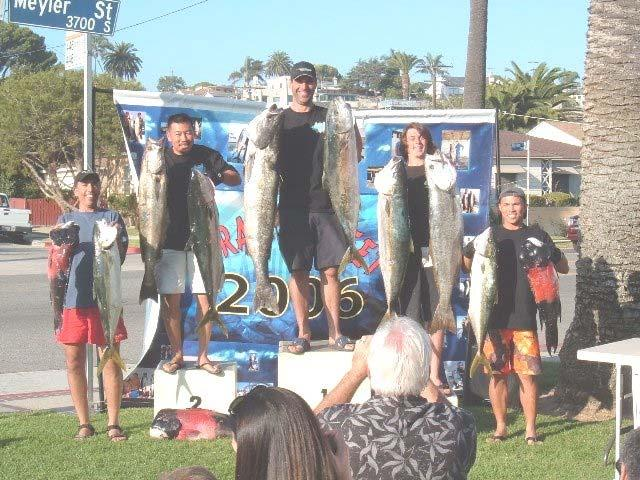 The big seabass were anything but absent at Catalina, and in June, Kent Hill got 3rd in the Neptunes Blue water meet.