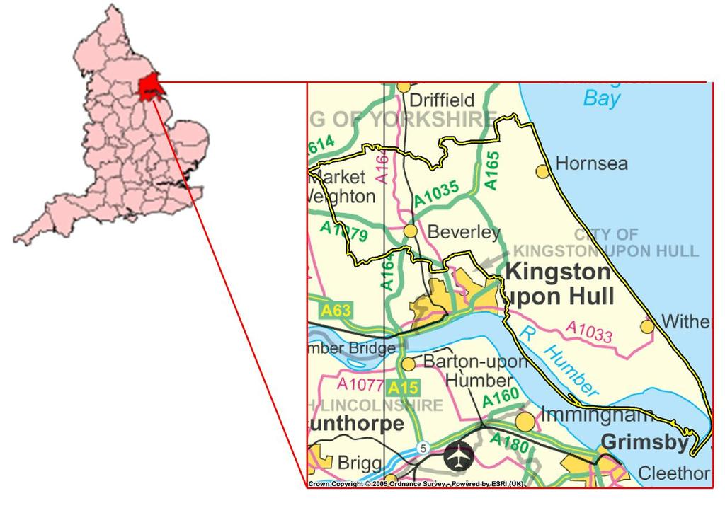 The Physical and Human Causes of Erosion The Holderness Coast By The British Geographer Situation The Holderness coast is located on the east coast of England and is part of the East Riding of