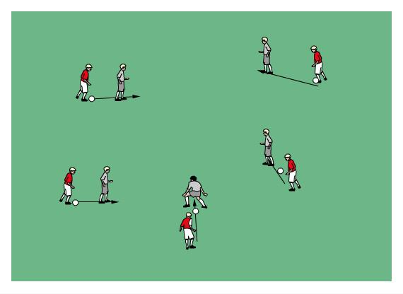 U7/8 Week 6 May 20 Theme: Playing in small groups Anti-Bullying Coaches Choice Warm-Up: Bridges Players get with a partner. One player has a ball, the other does not.