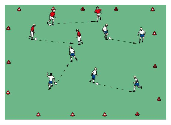 U13/14 Week 4 April 29 Theme: They have the ball Best Defender Warm Up: Pressure, Steal Ground, or Deny Players partner up and pass the ball back and forth to each other.