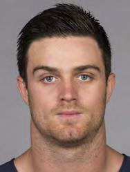 CHICAGO BEARS PLAYERS 47 CHRIS CONTE Ht: 6-2 Wt: 203 Age: 24 College: California Bears Season: 3 NFL Season: 3 Acquired: 3rd round of the 2011 draft SAFETY CONTE PRO CAREER: Started 24 of 29 games