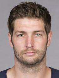 CHICAGO BEARS PLAYERS 6 JAY CUTLER Ht: 6-3 Wt: 220 Age: 30 College: Vanderbilt Bears Season: 5 NFL Season: 8 Acquired: Trade with DEN in 2009 QUARTERBACK CUTLER PRO CAREER: Enters fifth season in