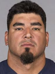 PLAYERS 63 ROBERTO GARZA Ht: 6-2 Wt: 310 Age: 34 College: Texas A&M-Kingsville Bears Season: 9 NFL Season: 13 Acquired: Unrestricted free agent in 2005 (ATL) GUARD/CENTER PRO CAREER: Has started