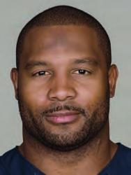 55 LANCE BRIGGS Ht: 6-1 Wt: 244 Age: 33 College: Arizona Bears Season: 12 NFL Season: 12 Acquired: 3rd round of the 2003 draft LINEBACKER BRIGGS PRO CAREER: Seven-time Pro Bowler (2005-11) has