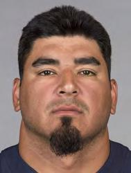 63 ROBERTO GARZA Ht: 6-2 Wt: 310 Age: 35 College: Texas A&M-Kingsville Bears Season: 10 NFL Season: 14 Acquired: Unrestricted free agent in 2005 (ATL) GUARD/CENTER PRO CAREER: Has started 164-of-194