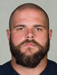 68 MATT SLAUSON Ht: 6-5 Wt: 315 Age: 28 College: Nebraska Bears Season: 2 NFL Season: 6 Acquired: Unrestricted free agent in 2013 (NYJ) GUARD SLAUSON PRO CAREER: Started 64 of 67 games played for the