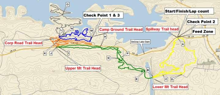 Single Track course map: Two