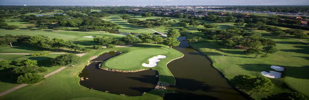 The Golf Courses natural features include bent grass greens, a variety of bunkers and 419 Bermuda fairways.