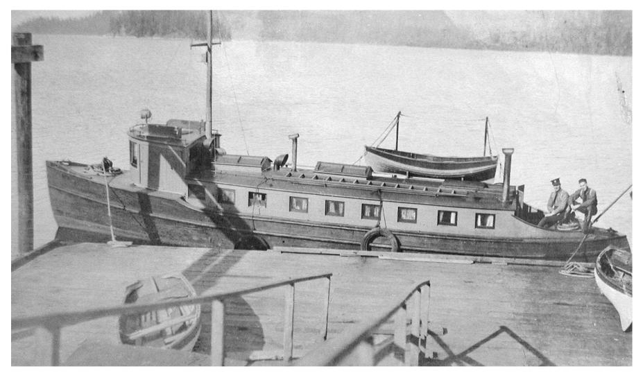 moved to Prince Rupert, where she eventually sank, was recovered, and then