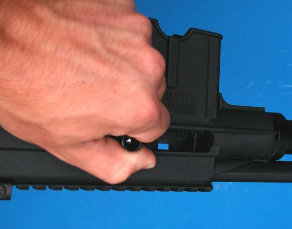 Do not attempt to load your magazine with more than the specified number of rounds. Doing so can damage the magazine and can cause a feeding malfunction.