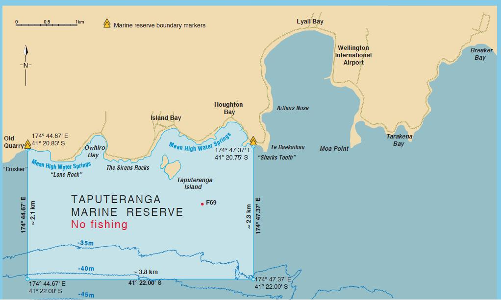 Part 1. Overview of the issue This paper focuses on the Taputeranga Marine Reserve (TMR) on the south coast of Wellington (Figure 1).