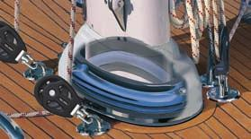 Deck rings Mast section (dim, mm) Remarks C321 533-016-01 (358 x 202) Rails and tie-rods cannot E365 533-019-01 (405 x 225) be integrated.