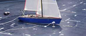 In particular a camera was placed on the floor looking at the yacht stern, another one was placed on the roof looking along the mast direction in order to