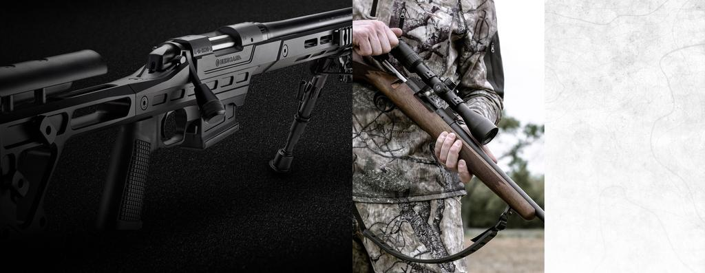 B-14 SERIES B-14 SERIES Our B-14 Series brings Bergara quality and accuracy to a line of rifles that is affordable to almost any serious big-game hunter or shooter.