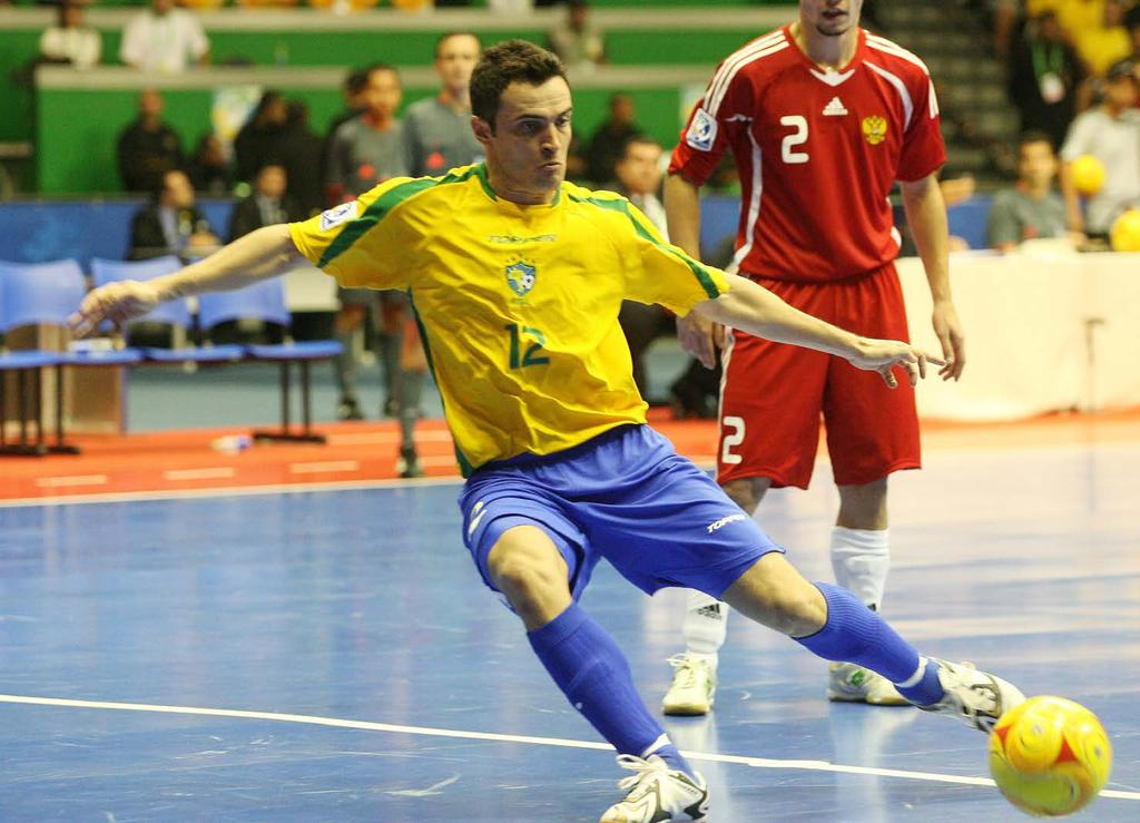 Gustavo Miranda / Agência O Globo GRAND PRIX FUTSAL PACKAGE This major international competition is held annually in Brazil.