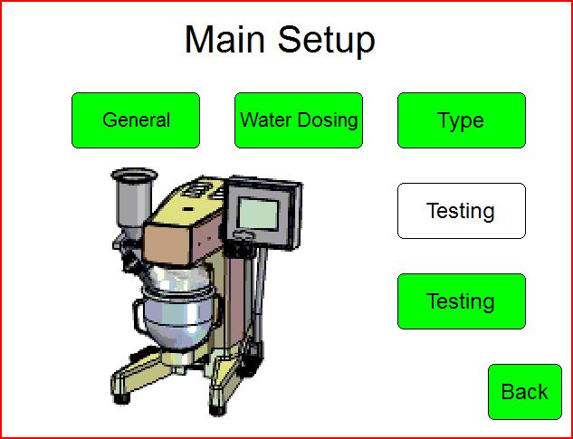 Laboratory Mortar Mixer (Testing) User Manual, Version February 22, 2015 10/16 4.6 Program 4 EN 196-Part 9 This program is mixing mortar according to European Norm (EN).