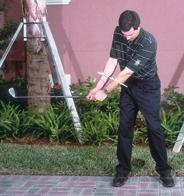 The unusual feel may at first be awkward and inhibit the swing change, so it s important to ease into the different feel. Training aids can help accelerate the learning process.