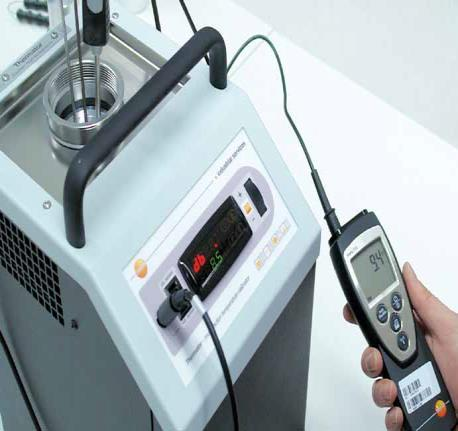 Thermator multifunction temperature calibrator Your benefits: Temperature calibrations in 4 different operating modes (Liquid bath, Dry Block, Infrared, Surface) Suitable for onsite applications and