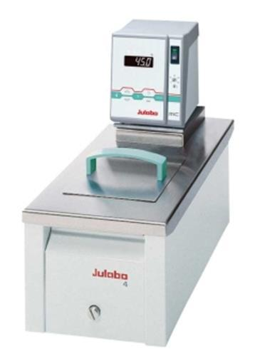 Refrigerated/ heating circulators from Julabo There are three device series with different bath sizes and equipment features available.