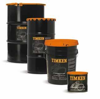 PREMIUM TIMKEN GREASES Extreme-pressure and anti-wear additives, as well as corrosion inhibitors. Operates effectively in temperatures from -40ºF to +300ºF (-40ºC to +149ºC).