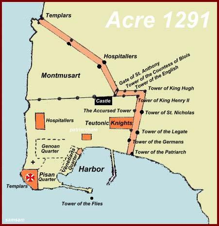 But the Third Crusade led by Richard I of England recaptured Acre in 1191 and became base of operations and the capital of Kingdom of