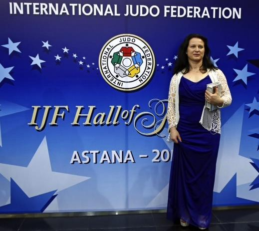 We are very privileged to have the first Oceania Athlete inducted into the IJF Hall of Fame.