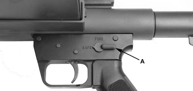 ^ WARNING Risk of serious injury or death. The firearm may have a round in the chamber even though the magazine has been removed.