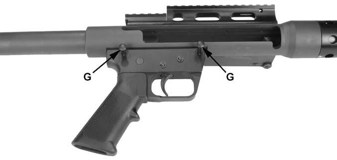 Remove bolt body (F) from the rear of the receiver. See figure 29.