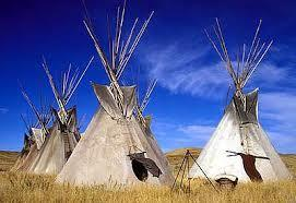 LESSON 3 Great Plains Lived in the Western part of the Interior Plains They moved from place to place following buffalo herds They built shelters that were easy to move and called them tepees Tepees