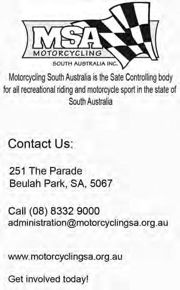 2016 MANUAL OF MOTORCYCLE SPORT 4 COMPETITIONS i) Such other considerations, as MA considers relevant. 4.4.6.4 MA may refuse the application or may grant the same and may impose such conditions as it considers are necessary and reasonable for the fair, safe and effective conduct of the event.