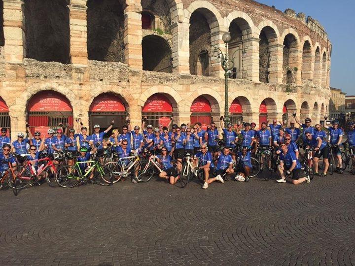 weeks prior to the event, since part of your sponsorship will be used to pay for your place on the ride. How will I get my bike to and from Italy? Who will be there to support me during the event?