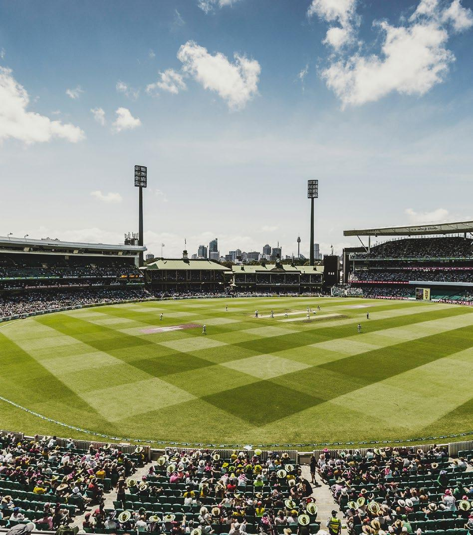 GROUNDS is the home of the Sydney Cricket Club in the NSW Premier Cricket competition.