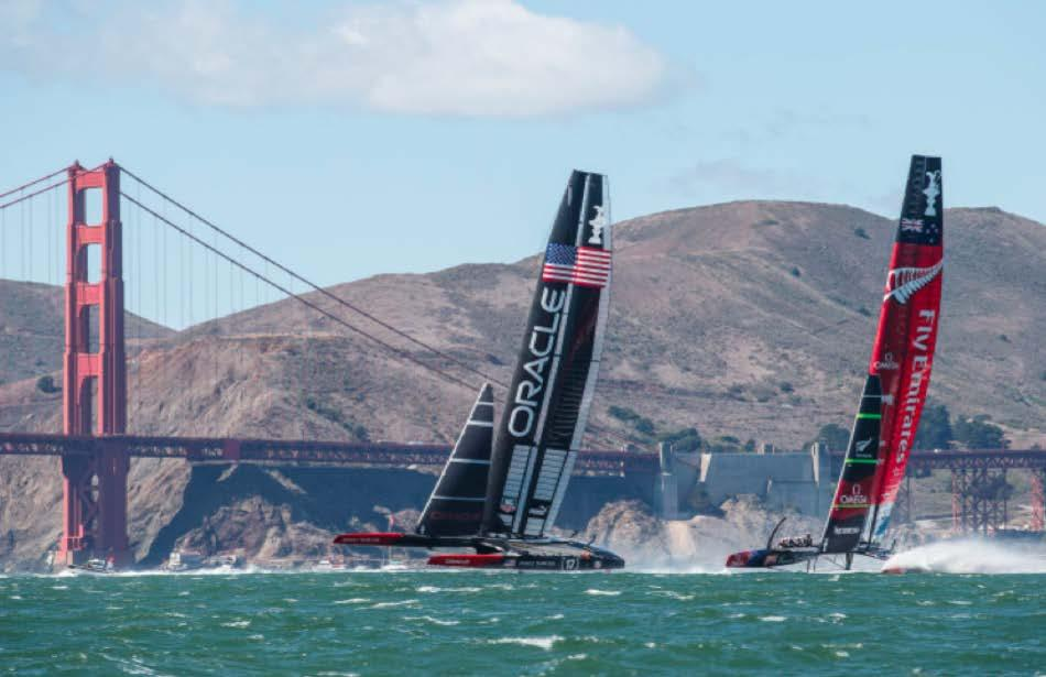 34 th America s Cup A new