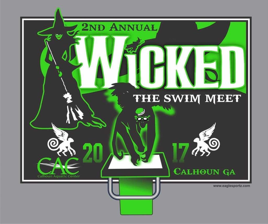 WICKED, The Swim Meet October 28-29, 2017 SANCTION: HOST CLUB: MEET REFEREE: MEET STARTER: STROKE & TURN: ADMIN OFFICIAL: Held under the sanction of USA Swimming Inc., issued by Georgia Swimming Inc.