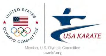 Dear Competitors, Coaches & Officials; 2013 USA National Karate Championships & US Team Trials Greeneville, SC On behalf of USA Karate, I would like to invite you to join us at the 2013 USA National