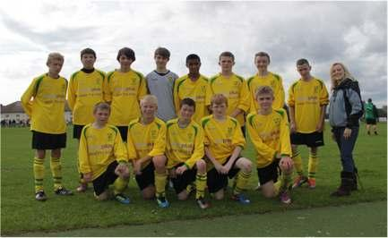 Under 15 s Unveil new Sponsorship Around the Ages Under 15 s The Under 15 s are proud to show off their new
