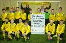 Around the Ages Under 12 s U12s Eagles - Equality Award 2012 Under 12s Eagles receive the