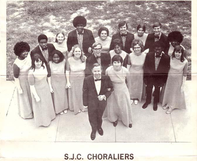 Junior College Choraliers 1972 (Wayne