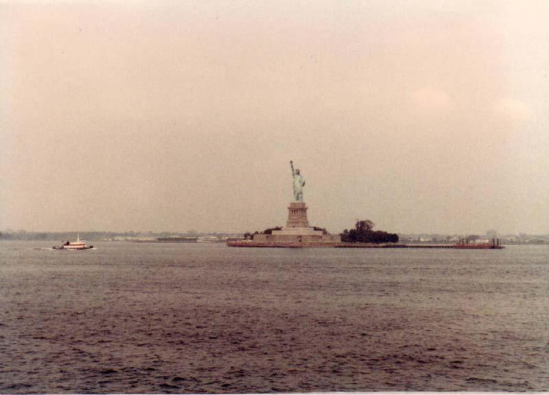 In July of 1986 all 3 of us spent a weekend in New York City, NY (courtesy of Burger