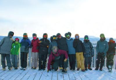 Esa Suominen WEEKLY CORE ON-SNOW TRAINING AT MT.
