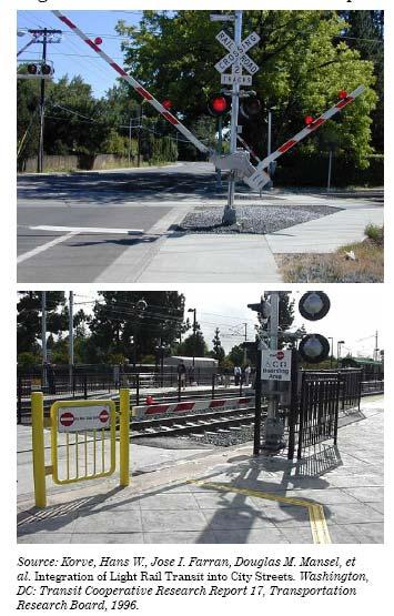 Figure 4 Pedestrian Automatic Gate Examples below shows an example of two different automatic pedestrian gate applications.