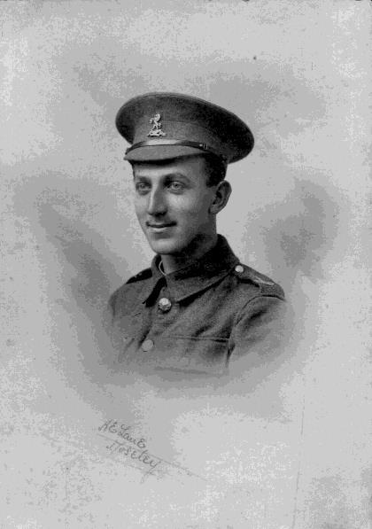 Figure 6: Private L E Smith In 1916, the Royal West Kent Regiment was part of the 18 th Division of the 5 th Army and in action on the Somme in