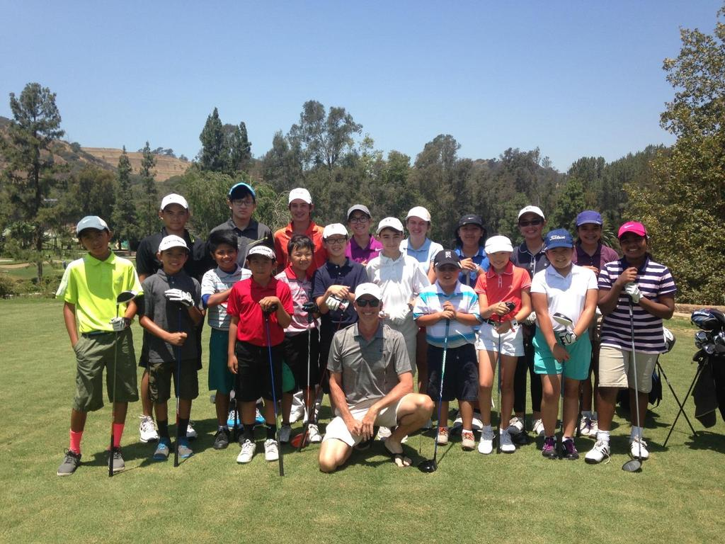 CITY OF LOS ANGELES DEPARTMENT OF RECREATION AND PARKS TREGNAN GOLF ACADEMY At Coolidge in Griffith Park LATE SUMMER 2015 Making a difference in the lives