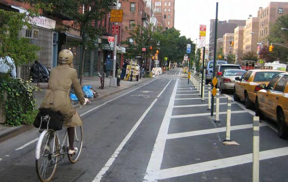 Safety Statistics 9th Avenue: Injuries to all street users down 56% Reportable crashes down 48%