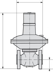 10% pressure deviation of full scale ir consumption without constant bleed djustment manual by turning the spindle under the cover of the spring cage Relieving function non-relieving