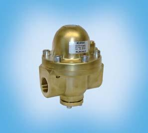 High Pressure ooster up to 100 bar RLM / RLE The pressure regulator / booster regulates the pressure through a pressure at ratio of 1:1.