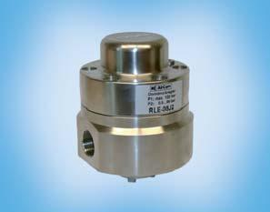 Functioning as a volume booster the dome is controlled by a proional pressure regulator or a pressure regulator. compressed air, non-corrosive gases or liquids Supply pressure max. 25 bar for RL.-0.